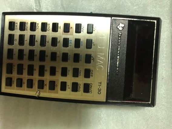 Calculadora Antiga Texas Instruments Ti 30 Nao Liga