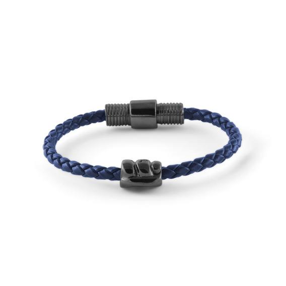 Brazalete Nodo Semicaucho Azul Nsc-nn-sc-3