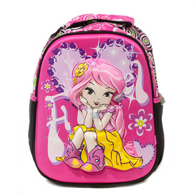 Mochila Infantil 3d Fada Pink