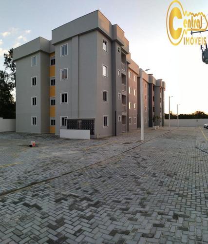 Apartamento  Com 2 Dormitório(s) Localizado(a) No Bairro Itacolomi Em Balneário Piçarras / Balneário Piçarras  - 108