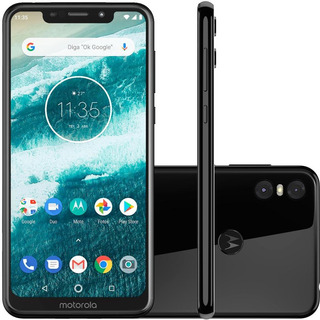 Smartphone Motorola One 5.8 4gb/64gb Preto - Xt1941-3