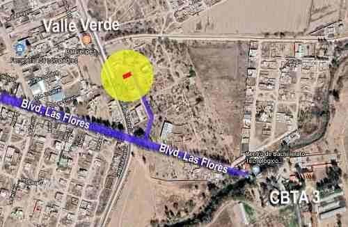 Terreno Habitacional En Venta Colonia Valle Verde