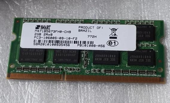 Memoria Ram Notebook 2gb Ddr3 Pc3 10600s 1333mhz 1.5v Nova!
