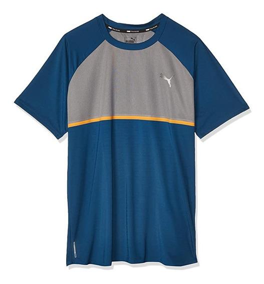 Camiseta Puma Power Bnd Hombre Manga Corta Deporte Entreno
