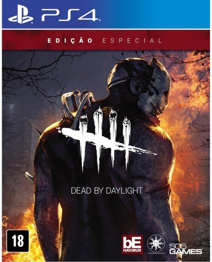 Dead By Daylight - Ps4 - Novo - Midia Fisica - Lacrado