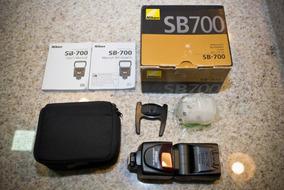 Flash Sb700 Nikon Seminovo - Original Completo Sb-700