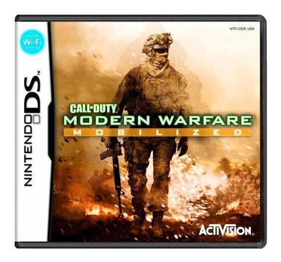Call Of Duty Modern Warfare Mobilized Ds Mídia Física