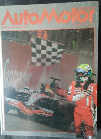 Livro Anuário Automotor Esporte 2008/2009- Reginaldo Leme