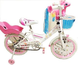 Bicicleta De Nena, Rodado 14, Unicornio Magico, Pioneer
