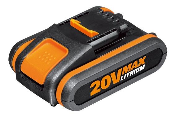 Bateria De Litio 20 V 2 Ah Worx Recargable Portatil Oferta