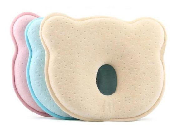 Almohada Bebe Memory Foam Prevencion Cabeza Plana Cojin