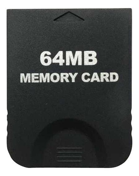 Cartão De Memória De 64mb Sti Para Nintendo Wii Gamecube Ngc