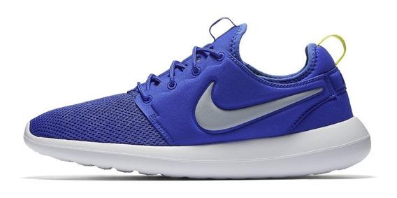 Tenis Nike Roshe Two Casual Original Caminhada Azul