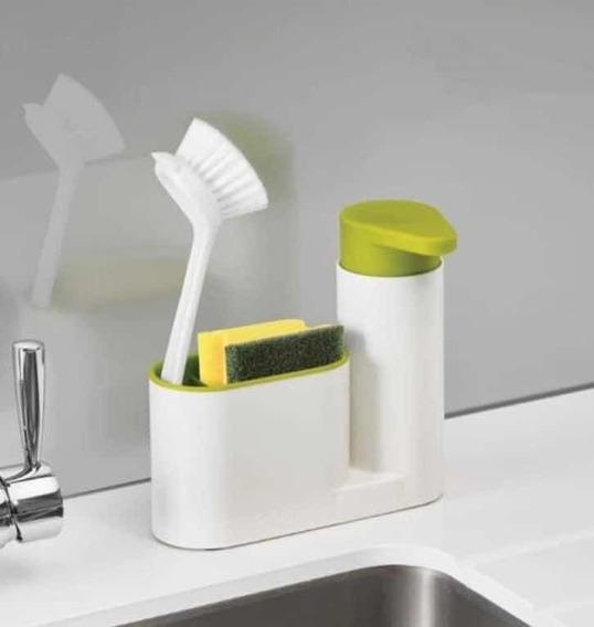Dosificador Dispenser Jabon Detergente Organizador Cocina