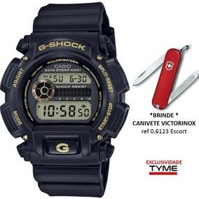 Relógio Casio Masculino G-shock Dw-9052gbx-1a9dr + Brinde Nf