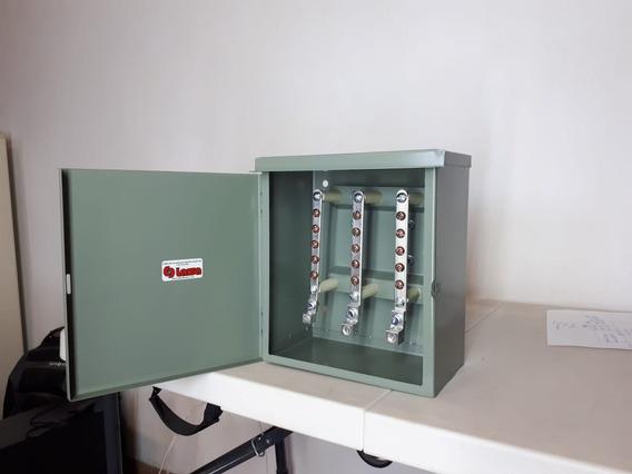 Caja De Distribucion 100 Amp 3 Barras 5 Servicios