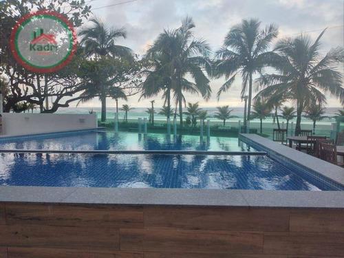Imagem 1 de 17 de Apartamento Com 2 Dormitórios À Venda, 67 M² Por R$ 385.000 - Balneário Flórida - Praia Grande/sp - Ap5691