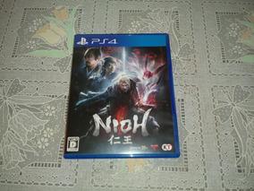Jogo Nioh Ps4 (versão Japonesa)