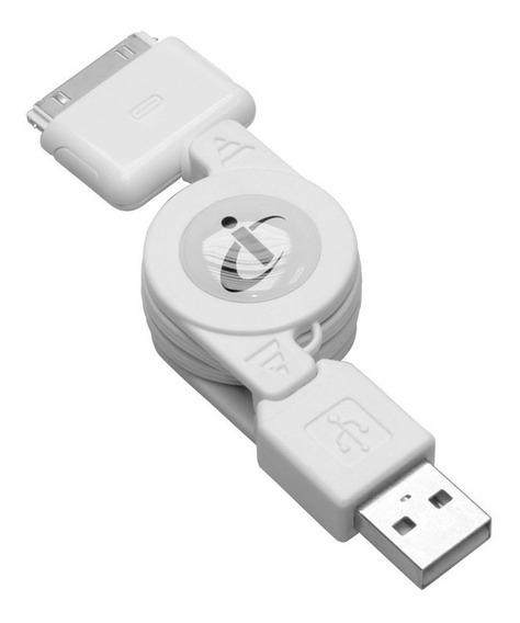 Cabo Retrátil Usb / Dock Para iPod I-concepts | 10188cip