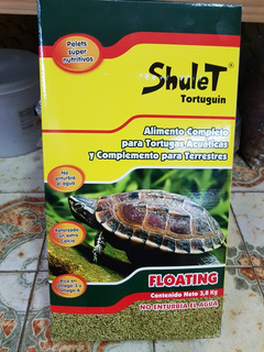 Alimento Completo Para Tortugas Acuáticas X 250 Grs.