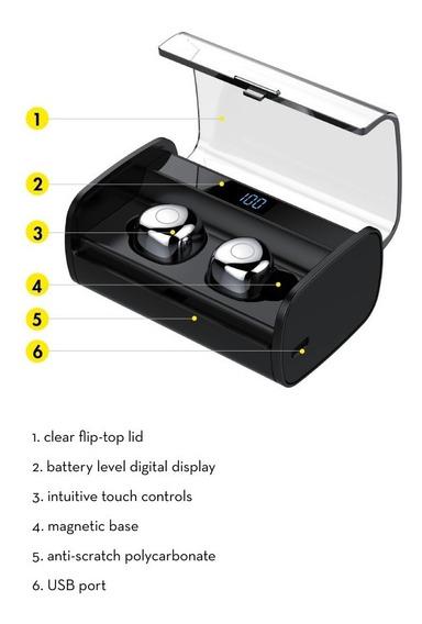 Powerplus Case Para Fone Hi-fi Wireless Muve Q65