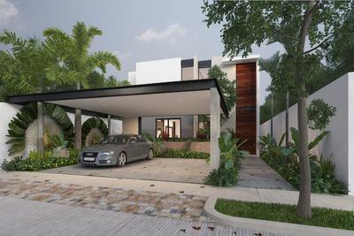 Casas En Venta En Privada Al Norte De Mérida, Ya