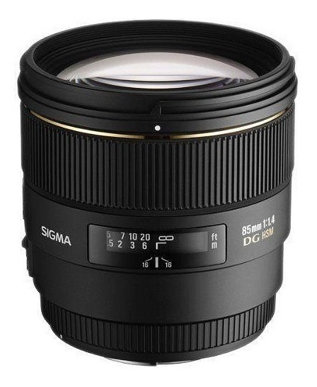 Promoçao Lente Sigma 85mm F/1.4 Ex Dg Hsm Para Nikon