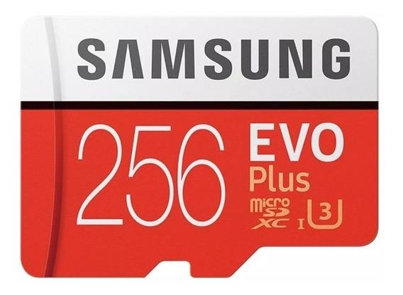 Cartao De Memoria Samsung Evo 100mb/s 256 Gb Insigh Lacrado1