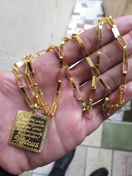 Pingente De Prata 925 Banhado A Ouro 24k