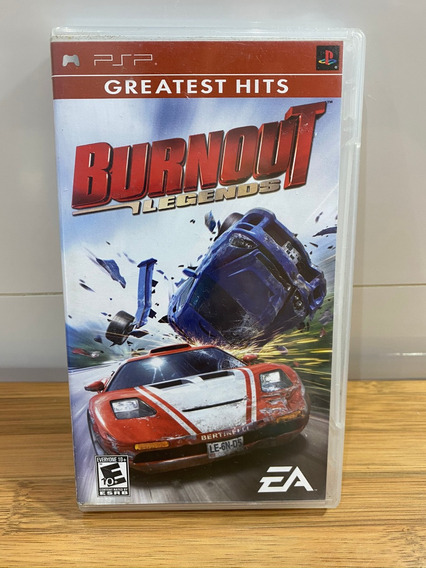 Jogo Burnout Legends Psp Ótimo Estado