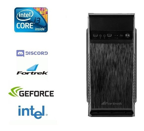 Pc Gamer Core I3 + 8gb Ram + Hd 500gb + Nvidia + 10 Games