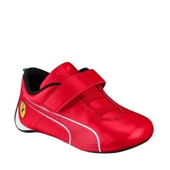 Tenis Casual Para Niño Puma Ferrari Rojo Yx1018