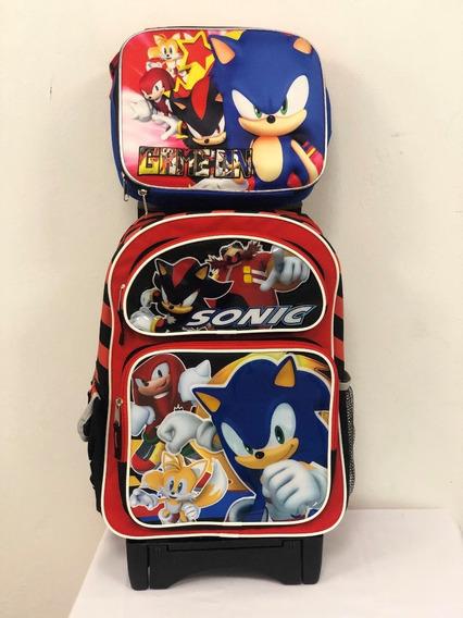 Mochila Sonic Mod 703 Llantas Gel $1990.00