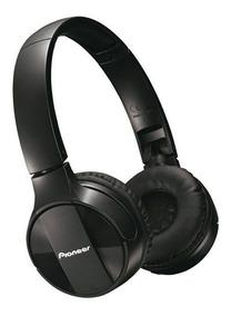 Headphone C/ Microfone Fone Bluetooth Sem Fio Preto Pioneer
