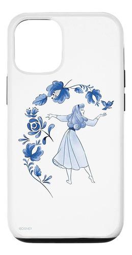 Imagen 1 de 2 de Estuchefunda Para iPhone 12/12 Pro Disney Bella Durmiente Pr