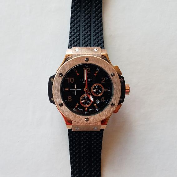 Reloj Oro Chronometro Acero Envio Dhl Gratis