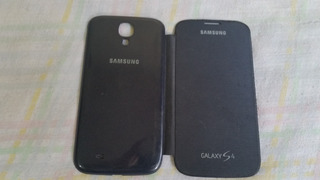 Capa Flip Cover Original Samsung Galaxy S4 - Grafite