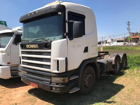 Scania R 124 420 - 2002 - 6x4 - Financiamento Próprio