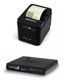 Kit Combo Sat Fiscal Bematech Rb-1000 Impressora Mp-2800