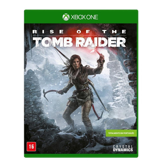 Rise Of The Tomb Raider (mídia Física Pt-br) Xbox One (novo)