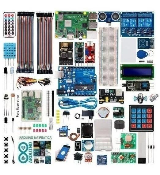 Raspberry Pi3plus Linux Kit Arduino Advanced Iot Wifi Brinde