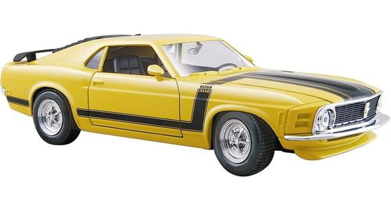Auto Ford Mustang Boss 302 Escala 1/24 Coleccion Abrepuertas