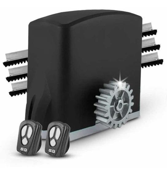 Motor Porton Corredizo Seg 500kg Kit 1/4hp Automatico Cuotas