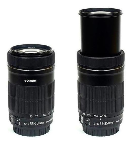 Lente Canon Efs 55-250mm F/4-5.6 Is Stm