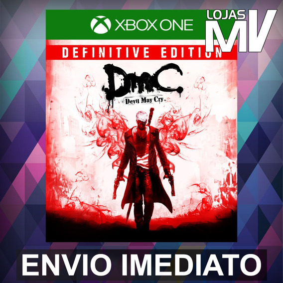 Dmc Devil May Cry Definitive - Xbox One Código 25 Dígitos
