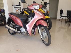 Honda Biz 125 Es 2014 Rosa
