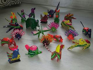 10 Alebrijes Miniatura Envío Gratis Oaxaca Tradicional