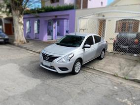 Nissan Versa 1.6 S Manual 2017 - Impecável - Aceito Troca!