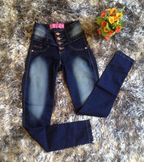 Calça Jeans Cintura Alta Hot Pant Estilo Pitbul Frete Gratis