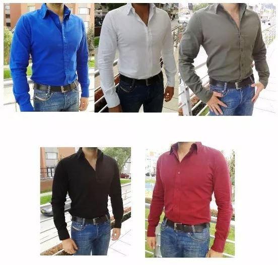 Camisas Slim Fit Elastizadas Fabricante Jean Remera Pantalon